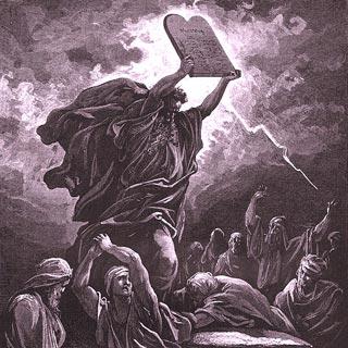 La Sacra Bibbia, Deuteronomio