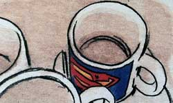 Il Nao di Brown - Tazza di Superman