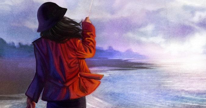 Matilde danza sulla riva