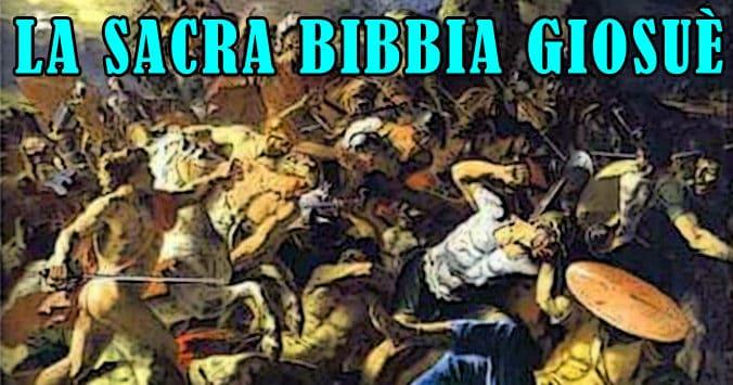 La Sacra Bibbia - Giosuè